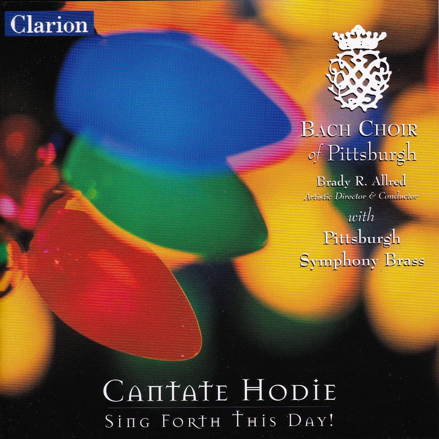 Cantate Hodie CD Cover