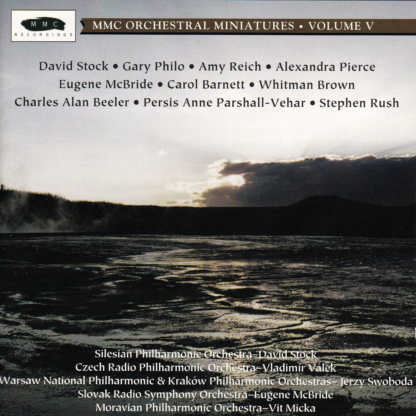 MMC Orchestral Miniatures CD Cover