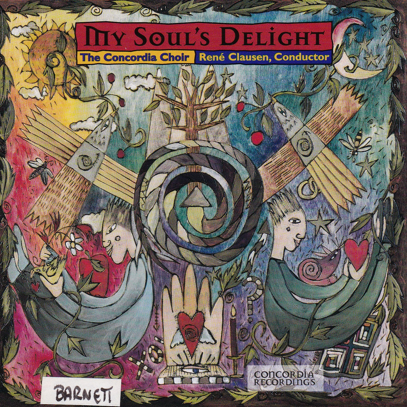 My Soul's Delight CD Cover
