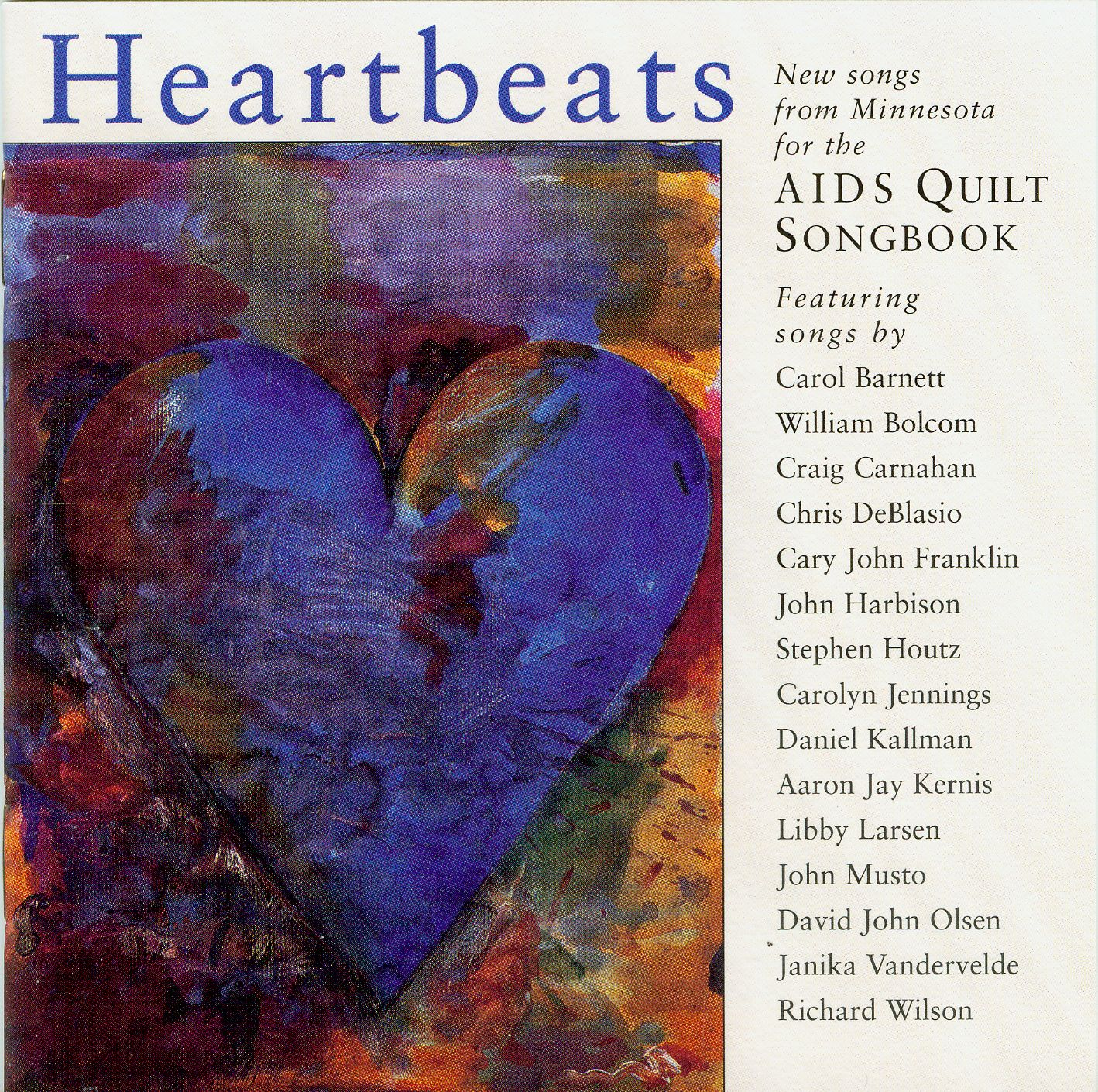 Heartbeats CD Cover