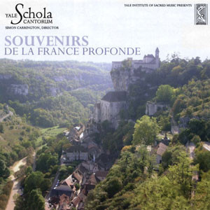 Yale Schola Cantorum CD Cover